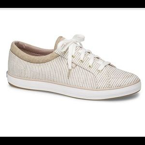 Keds Center Stripe Canvas Sneakers